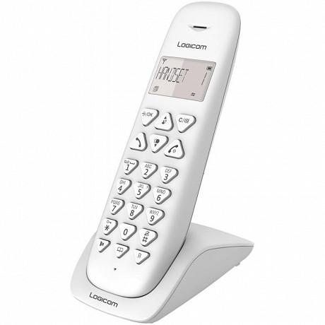 Logicom Téléphone sans fil solo VEGA 150 SOLO BLANC