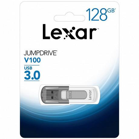 Lexar Clé USB 128gb 3.0 jumpdrive V100 LJDV100128GABGY