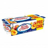 Recette crémeuse aux fruits panaché fruits jaunes 8x125g prix choc