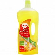 Cora nettoyant ménager fraîcheur citron 1.5l