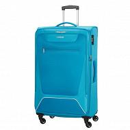 Trolley souple 79 cm American Tourister Hyperbreez bleu clair