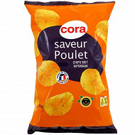 Cora chips saveur poulet 135g