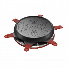 Moulinex raclette/grill Accessimo 6 coupelles RE151512