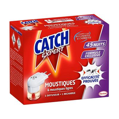 Catch Catch diffuseur électrique 45 nuits répulsif