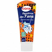 Cora dentifrice junior dès 7 ans goût fruits rouges 75ml