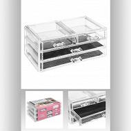 Boîte à bijoux 4 tiroirs