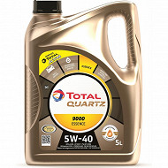 Huile total quartz 9000 5W-40 essence