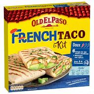 Old el paso kit french taco 385g