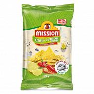 Mission tortilla chips chili lemon 175g