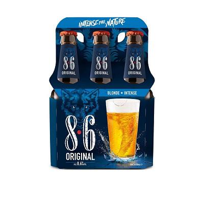 8.6 8.6 Original pack 6x33cl Vol.8.6%