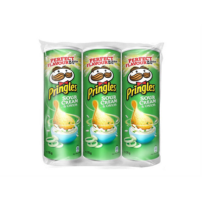 Pringles Pringles sco sour cream & onion (3x175g)