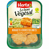 Herta le bon végétal nuggets carottes & potiron 180g
