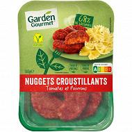 Herta le bon végétal nuggets tomates & poivrons 180g
