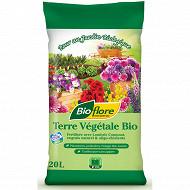Bioflore terre végétale fertilisée 20 litres