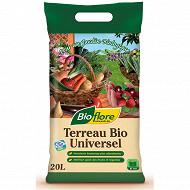 Bioflore terreau universel bio 20 litres