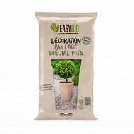 Easybio déco Sable Coquillier pour Paillage / Spécial Pots - 8kg