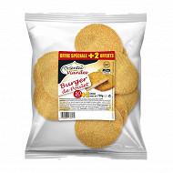 Oriental Viandes Burger de poulet surgelé halal 10 +2 offerts 720g
