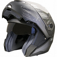 Casque intégral modulable BLACK SPIDER TS