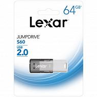 Lexar clé USB 64 gb s60 jump drive usb 2.0