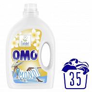 Omo lessive liquide monoi 35 lavages - 1.925l