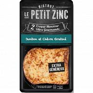 Le Petit Zinc croque monsieur chèvre 2x140g