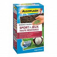 Algoflash  semences gazon sports et jeux haute résistance 1 kg