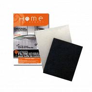 Home Equipement filtre combine rectangulaire a découper pour hotte 95119/1