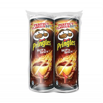 Pringles Pringles hot et spicy 2x 175g