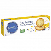 Gavottes fine galette citron et graines de pavot 120g