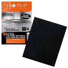 Home Equipement filtre charbon rectangulaire a decouper pour hotte 95104/1