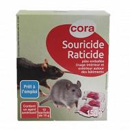 Cora raticide souricide pâte 150 gr