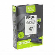 Home Equipement sac synthétique pour aspirateur X4 HEEP00+