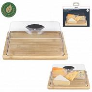Plateau à fromage avec cloche