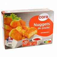 Cora nuggets de poulet étui 400g
