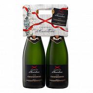 Champagne de Castellane Commodore brut 2x75cl 12%vol