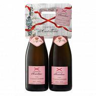 Champagne de Castellane Commodore rosé 2x75cl 12%vol
