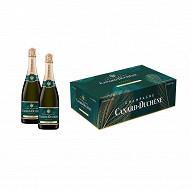 Canard Duchene brut bipack 2x75cl 12%vol