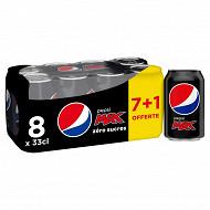 Pepsi max can 7x330ml +1