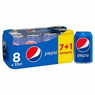 Pepsi regular can 7x330ml +1