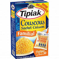 Tipiak couscous familial sc 630g offre découverte