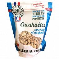 Cacahuètes grillées sans huile sans sel 300g