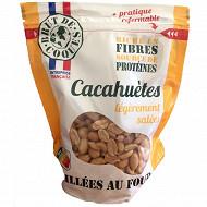 Cacahuètes grillées légèrement salées 300g