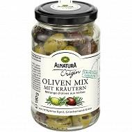 Alnatura origin mélange d'olives aux herbes 180g