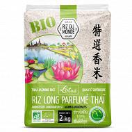 Riz du monde parfumé bio lotus 2kg