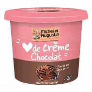 Michel et Augustin coeur de crème au chocolat et à la pointe de sel de Guérande 400g