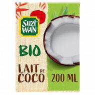 Suzi Wan bio lait de coco 200ml