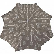 Anjosa parasol 180/8/22/25 mat inclinable aluminium elunia taupe