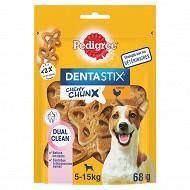 Pedigree dentastix chewy chunx saveur poulet pour chiens de 5 à 15kg