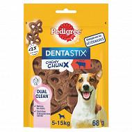Pedigree dentastix chewy chunx saveur boeuf pour chiens de 5 à 15 kg