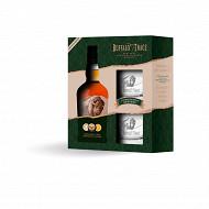 Buffalo trace straight bourbon coffret 2 verres 70cl 40%vol